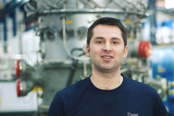 Daniel Cameron provides an insight into working as a mechanical fitter at RWG