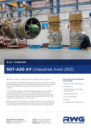 Avon Rwg Gas Turbine Repair Amp Overhaul Specialists
