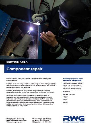 Component Repair datasheet