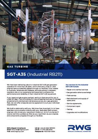 SGT-A35 Datasheet